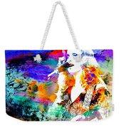 Bonnie Raitt Color Splash Weekender Tote Bag