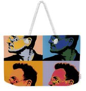 Bono Pop Panels Weekender Tote Bag