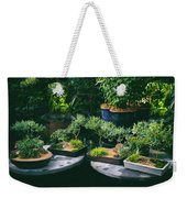 Bonsai Afloat Weekender Tote Bag
