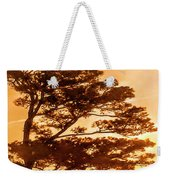 Bonsai Pine Sunrise Weekender Tote Bag