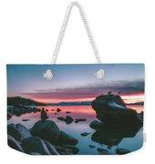Bonsai Rock Sunset Weekender Tote Bag