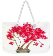 Bonsai Tree - Kurume Azalea Weekender Tote Bag