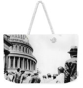Bonus Army Marchers, 1932 Weekender Tote Bag