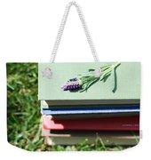 Book Weekender Tote Bag