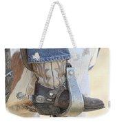 Boot And Spur Weekender Tote Bag