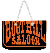Boot Hill Saloon Sign Weekender Tote Bag