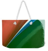Boot Stripe Weekender Tote Bag