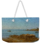 Boothbay Calm Day Ocean View Weekender Tote Bag