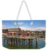 Boothbay Harbor 02287 Weekender Tote Bag