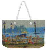 Boothbay Harbor At 8 Weekender Tote Bag