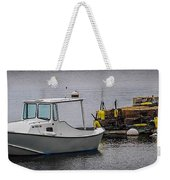 Boothbay Harbor, Me Weekender Tote Bag
