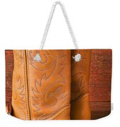 Boots With Spurs Weekender Tote Bag