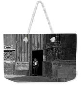 Bordeaux Church Door Weekender Tote Bag