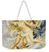 Boreas And Oreithyia Weekender Tote Bag by Evelyn De Morgan