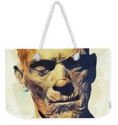 Boris Karloff, The Mummy Weekender Tote Bag