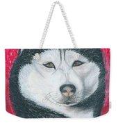 Boris The Siberian Husky Weekender Tote Bag