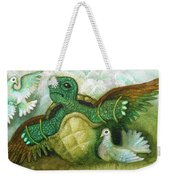 Born For Crawling Will Not Fly Weekender Tote Bag