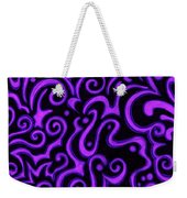 Born In Purple Weekender Tote Bag