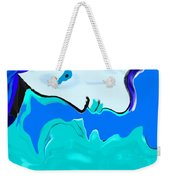 Born Of The Ocean Weekender Tote Bag