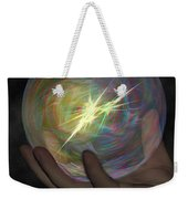 Born To Create - View With Or Without Red-cyan 3d Glasses Weekender Tote Bag