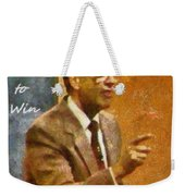Born To Win Weekender Tote Bag