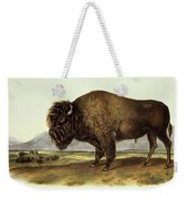 Bos Americanus, American Bison Weekender Tote Bag