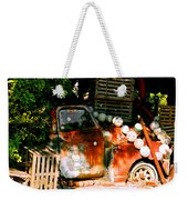 B.o.'s Fish Wagon In Key West Weekender Tote Bag