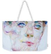 Bosie - Lord Alfred Douglas - Watercolor Portrait Weekender Tote Bag