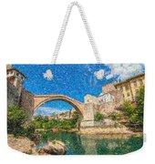 Bosnia Mostar Herzegovina Europe Travel Landmark Weekender Tote Bag