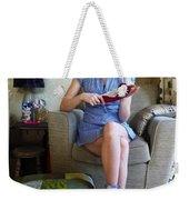 Bossy Schoolgirl Weekender Tote Bag