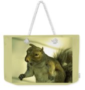 Bossy Squirrel Weekender Tote Bag