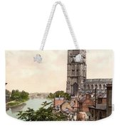Boston - England Weekender Tote Bag by International  Images