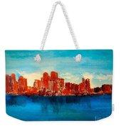 Boston Abstract Weekender Tote Bag