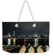 Boston Along The Charles River Weekender Tote Bag