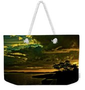 Boston Bay Sunrise Weekender Tote Bag