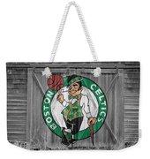 Boston Celtics Barn Doors Weekender Tote Bag