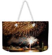 Boston Fireworks On The Charles Weekender Tote Bag