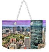 Boston From Above Weekender Tote Bag