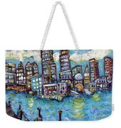 Boston Harbor Weekender Tote Bag