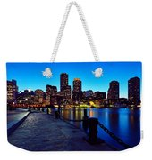 Boston Harbor Walk Weekender Tote Bag