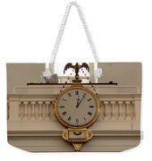 Boston Historical Meeting Room Clock Weekender Tote Bag