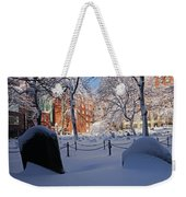 Boston Ma Granary Burying Ground Tremont St Grave Stones Weekender Tote Bag