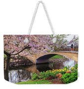 Boston Ma Spring Tree On The Charles River Esplanade Boston Ma Weekender Tote Bag