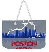 Boston Marathon 3a Running Runner Weekender Tote Bag