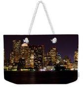 Boston Massachusetts - Panoramic Weekender Tote Bag