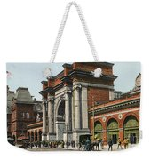 Boston: North Station Weekender Tote Bag