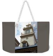 Boston Old State House Weekender Tote Bag