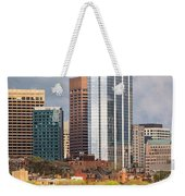 Boston Skyline Skyscraper Boston Ma Charles River Weekender Tote Bag