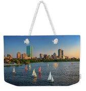 Boston Skyline Summer 2018 Weekender Tote Bag