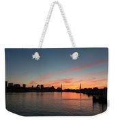Boston Sunset Weekender Tote Bag